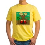 Underwater Christmas Yellow T-Shirt