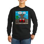Underwater Christmas Long Sleeve Dark T-Shirt