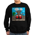 Underwater Christmas Sweatshirt (dark)