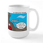 Underwater Christmas Large Mug
