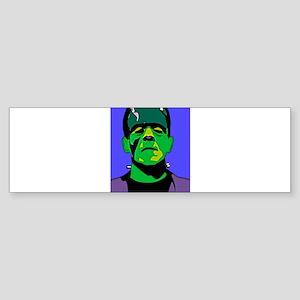 Frankenstein Monster Bumper Sticker