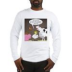 Farm Animal Menu Issues Long Sleeve T-Shirt