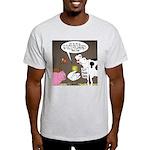 Farm Animal Menu Issues Light T-Shirt