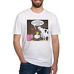 Farm Animal Menu Issues Fitted T-Shirt