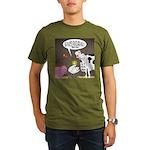 Farm Animal Menu Issu Organic Men's T-Shirt (dark)