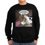 Farm Animal Menu Issues Sweatshirt (dark)