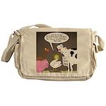 Farm Animal Menu Issues Messenger Bag