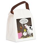 Farm Animal Menu Issues Canvas Lunch Bag