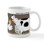 Farm Animal Menu Issues Mug