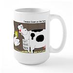 Farm Animal Menu Issues Large Mug