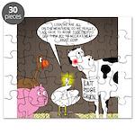 Farm Animal Menu Issues Puzzle