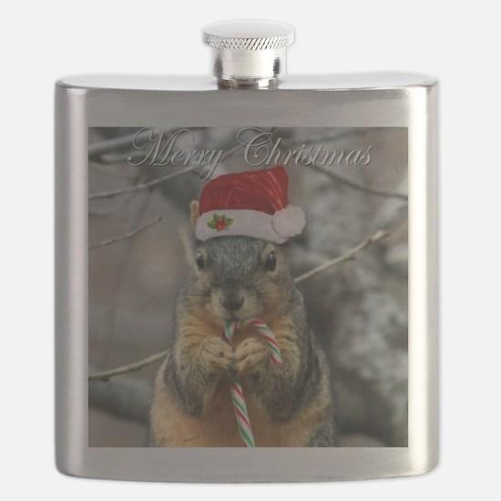 Unique Squirrels Flask