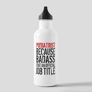 Badass Podiatrist Stainless Water Bottle 1.0L