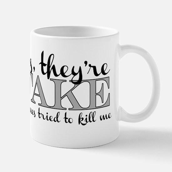 Yes, theyre FAKE V9 Mugs