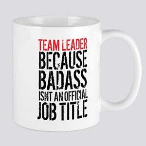 Badass Team Leader Mugs