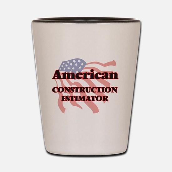 American Construction Estimator Shot Glass