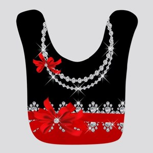 Diamond Delilah (Red) Bib