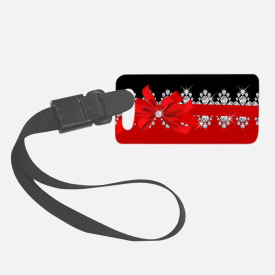 Diamond Delilah (Red) Luggage Tag