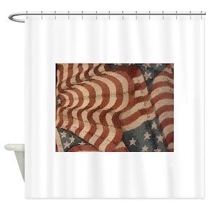 Americana Shower Curtains