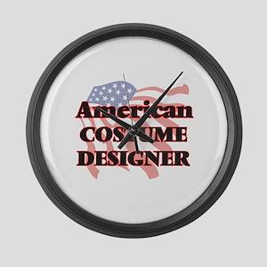 American Costume Designer Large Wall Clock