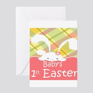 Baby's 1st Easter Greeting Cards