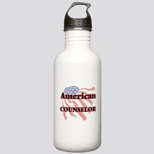 American Counselor Stainless Water Bottle 1.0L