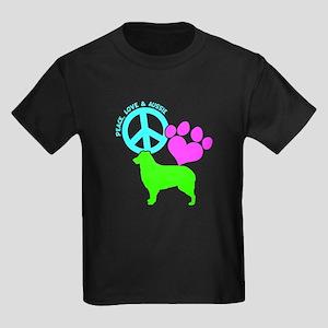 P,L, AUSSIE Kids Dark T-Shirt