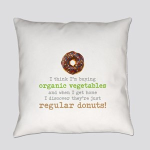Organic Donuts - Everyday Pillow