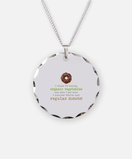 Organic Donuts - Necklace