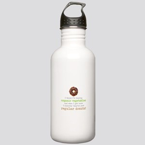 Organic Donuts - Stainless Water Bottle 1.0L