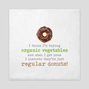 Organic Donuts - Queen Duvet