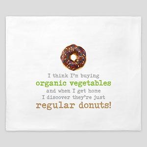 Organic Donuts - King Duvet