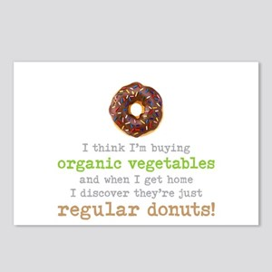 Organic Donuts - Postcards (Package of 8)