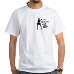 My Chocolate White T-Shirt