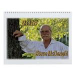 Steve Mcdonald 2016 Wall Calendar