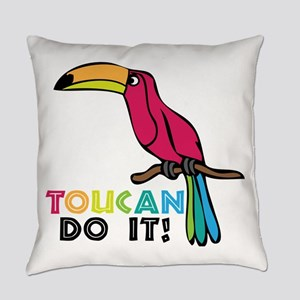 Toucan Do It Everyday Pillow