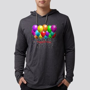 Happy Birthday Balloons Long Sleeve T-Shirt