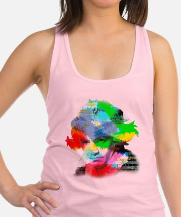 Beethoven in Color Racerback Tank Top
