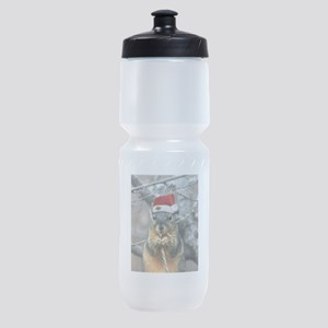Christmas Squirrel Sports Bottle