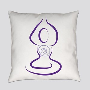 Yoga Symbol Everyday Pillow