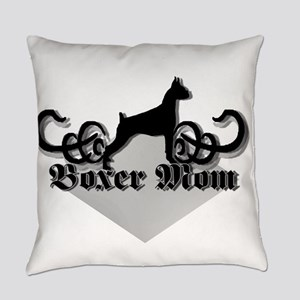 Boxer Mom Everyday Pillow