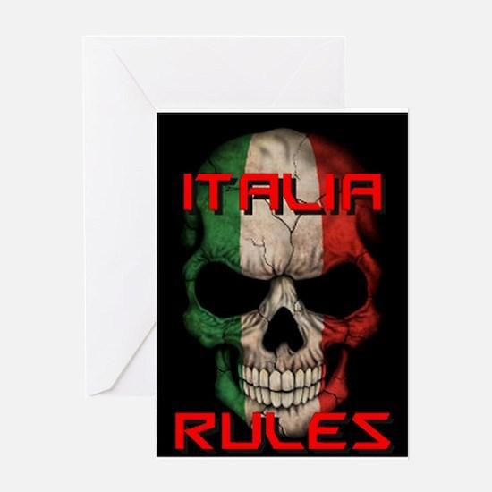 Italia Rules Greeting Cards