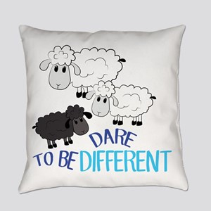 Be Different Everyday Pillow