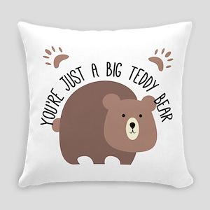 Big Teddy Bear Everyday Pillow