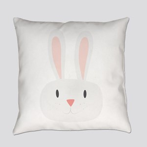 Bunny Rabbit Everyday Pillow