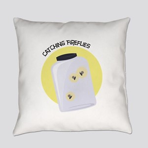 Catching Fireflies Everyday Pillow