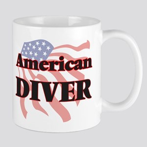 American Diver Mugs