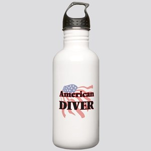 American Diver Stainless Water Bottle 1.0L