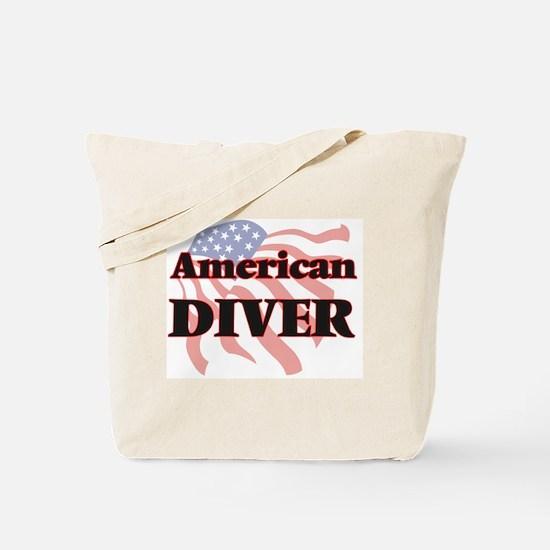 American Diver Tote Bag