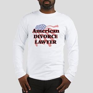 American Divorce Lawyer Long Sleeve T-Shirt